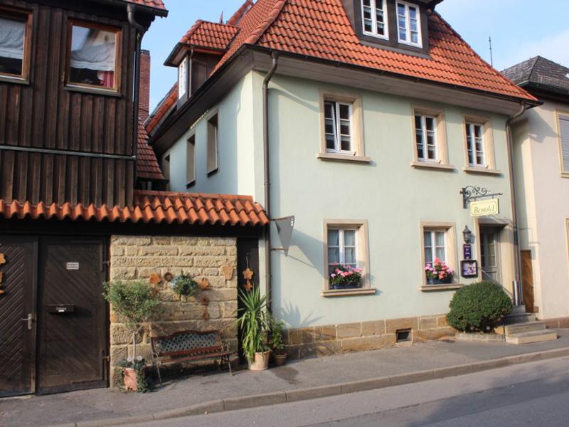 Das Gästehaus des Cafe Besold in Weismain in der Fränkischen Schweiz