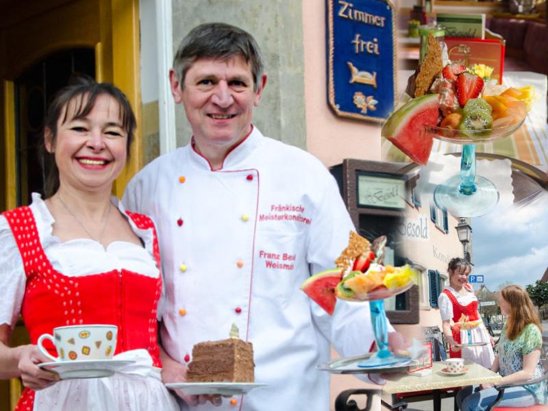 Cafe Besold in Weismain in der Fränkischen Schweiz