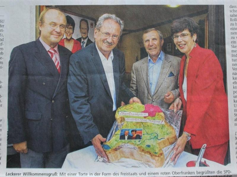 Christian Ude - Referenzen des Cafe Besold in Weismain in der Fränkischen Schweiz