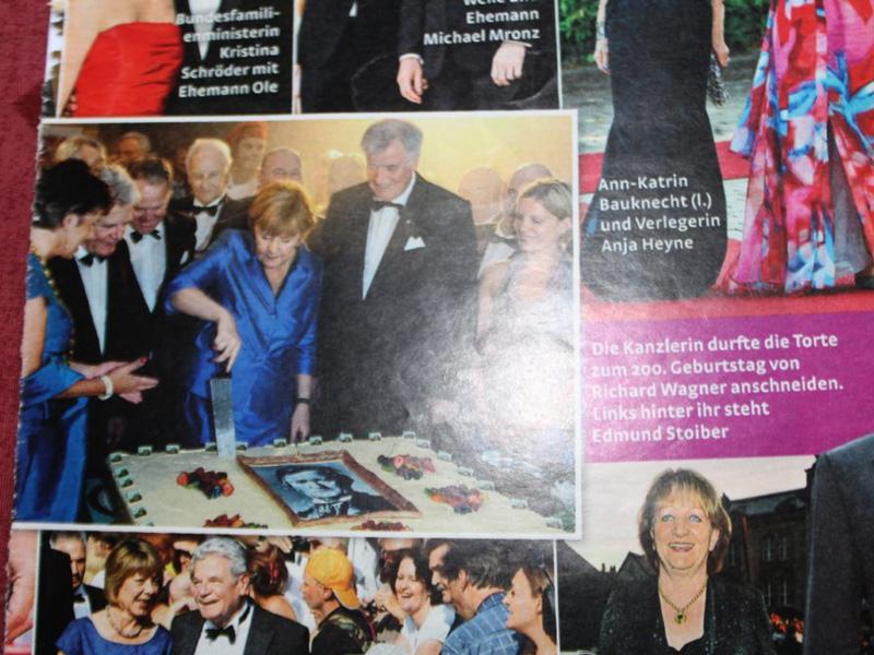 Richard Wagner Torte - Referenzen des Cafe Besold in Weismain in der Fränkischen Schweiz