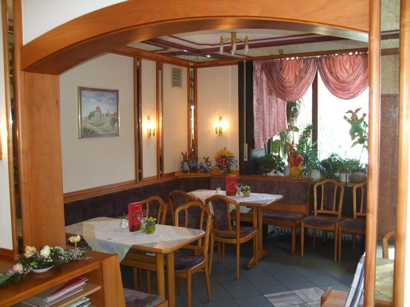 Das Cafe Besold in Weismain