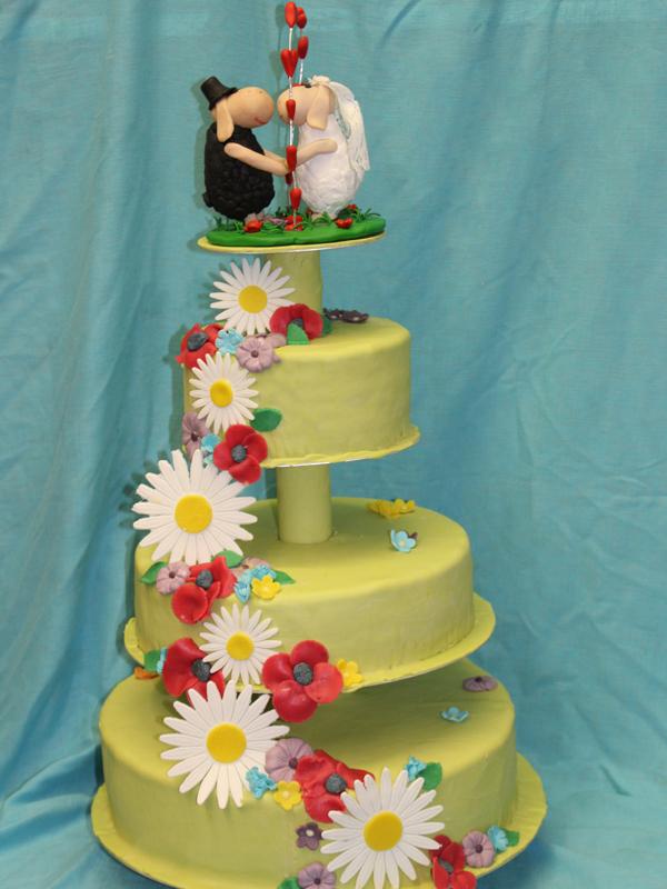 Thementorten - Hochzeitstorte