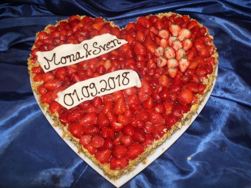 Hochzeitstorten des Cafe Besold in Weismain in der Fränkischen Schweiz